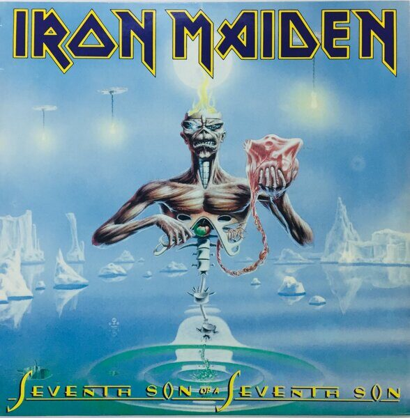 Виниловая пластинка. Iron Maiden  Seventh son of a Seventh son 1988 год